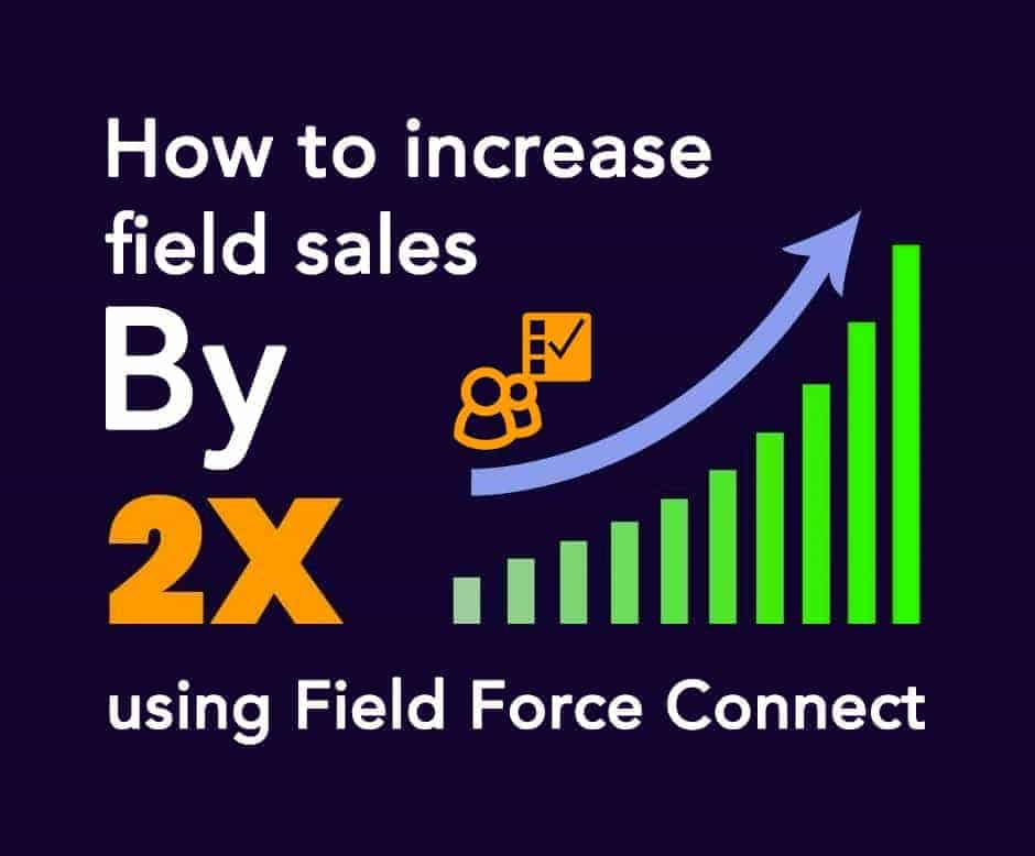 How-to-increase-field-sales-by-2X-using-Field-Force-Connect. | product sales tracker app