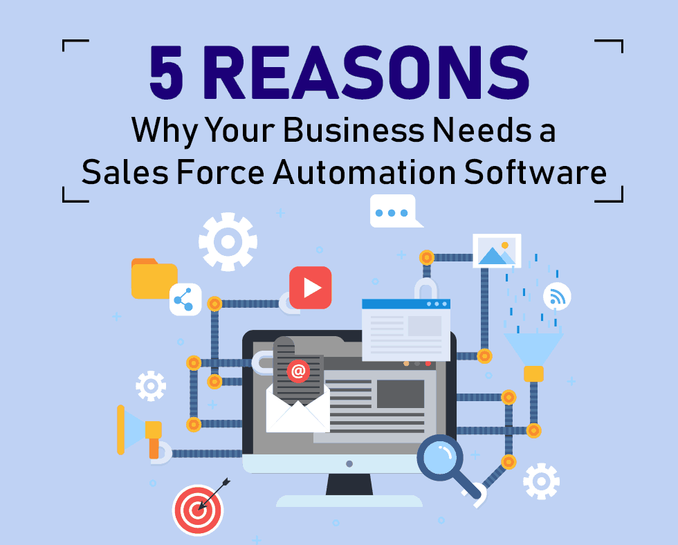 5 REASONS WHY YOUR BUSINESS NEEDS SALES FORCE AUTOMATION SOFTWARE | Product Sales Tracker App