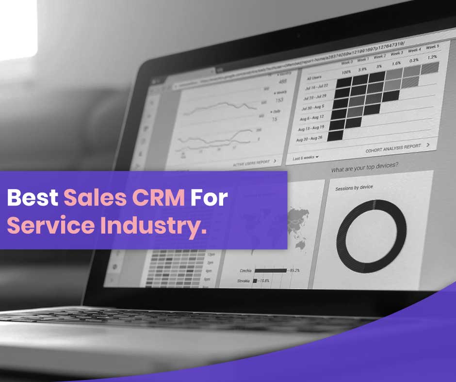Best Sales CRM For Service Industry