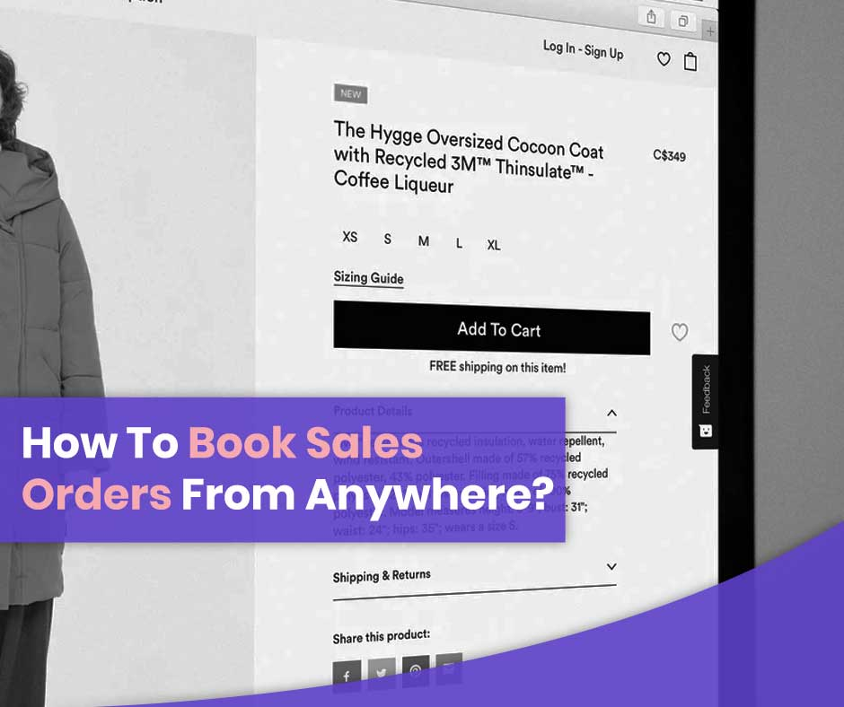 How-to-book-sales-order-from-anywhere | FMCG Industry